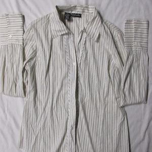 Rafaella Button Down Career Shirt